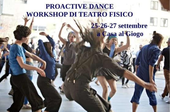 25,26,27 settembre 2020: Proactive dance